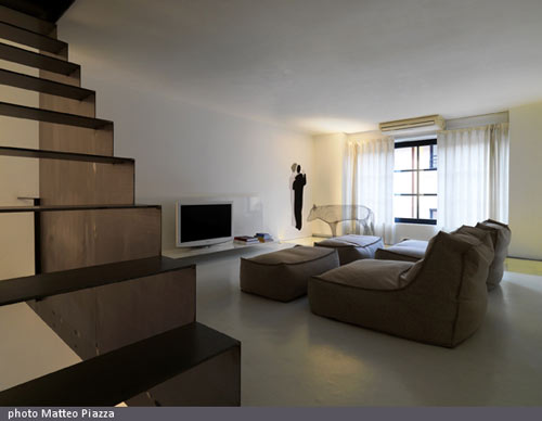 Twin Lofts Project in Italy by Federico Delrosso Architects