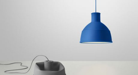 Unfold Lamp and Keep Table from Muuto