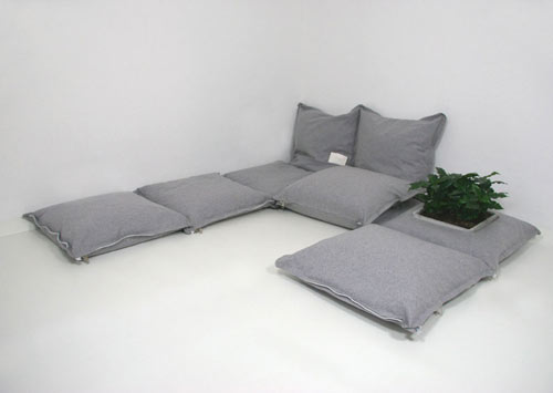 ZipZip Modular Cushions by Pling Collection in main home furnishings  Category
