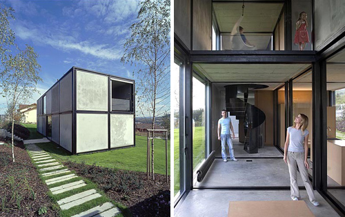 Villa in the Czech Republic by HSH Architekti / Petr Hajek, Tomas Hradecny, Jan Sepka in main architecture  Category