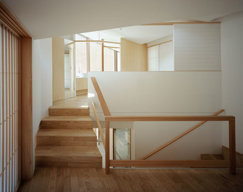 Oblique House B in Japan by Cell Space Architects in main architecture  Category