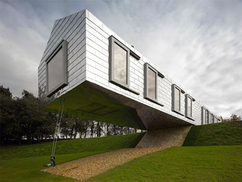 Balancing Barn in the UK by MVRDV