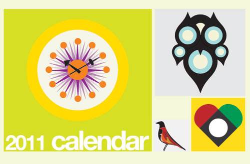 2011 Modern Calendars