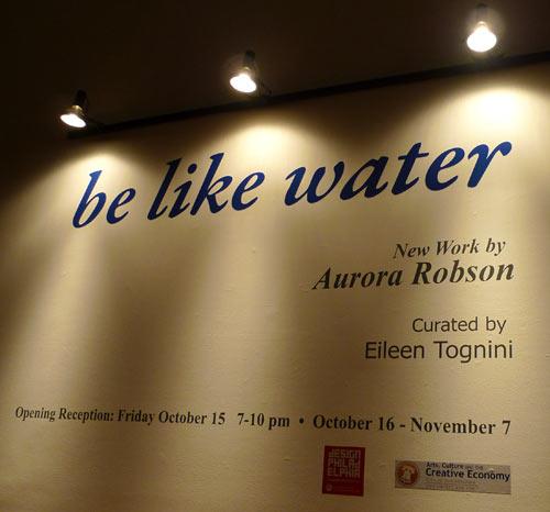 Aurora Robson: be like water