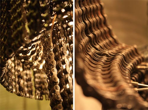 Chandeliers Made of Bike Parts in home furnishings art  Category