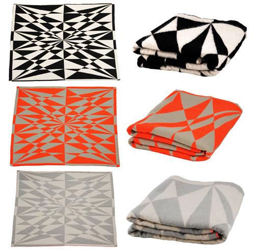 Modern Graphic Blankets