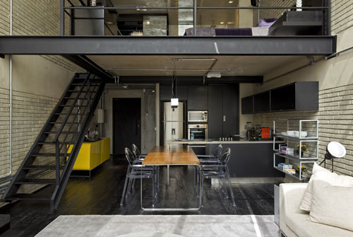 Industrial Loft in Brazil by Diego Revollo  in main interior design  Category