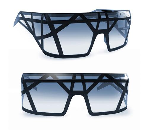 Futuristic Glasses Fashion Fashionable And Futuristic