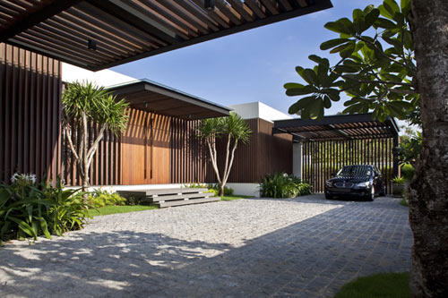 enclosed open house in singapore by wallflower architecture design - Home Design Singapore