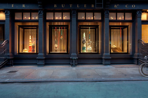 E.R. Butler & Co. Window by Lítill and Annie Larson