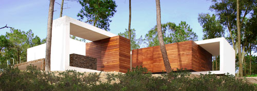 House in Meco Beach in Portugal by Jorge Mealha in main architecture  Category