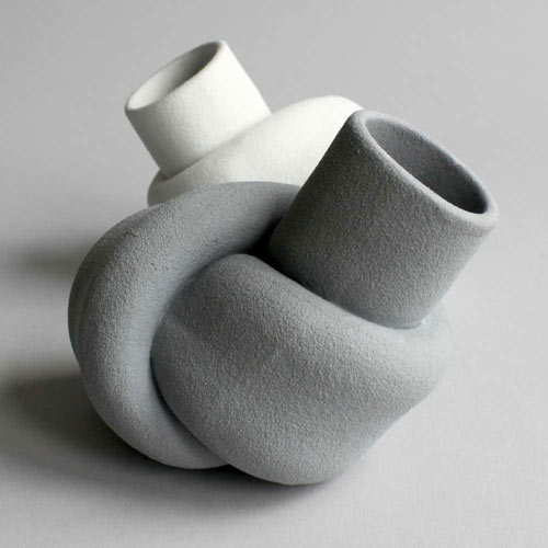 Knotted Vases by Judith van den Boom and Sharon Geschiere in main home furnishings  Category