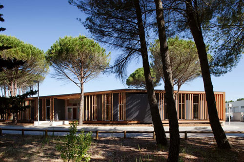 Center of Technical Services of La Grande Motte City in France by N+B Architects