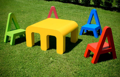 Letters Furniture for Kids by Alessandro Di Prisco in main home furnishings  Category