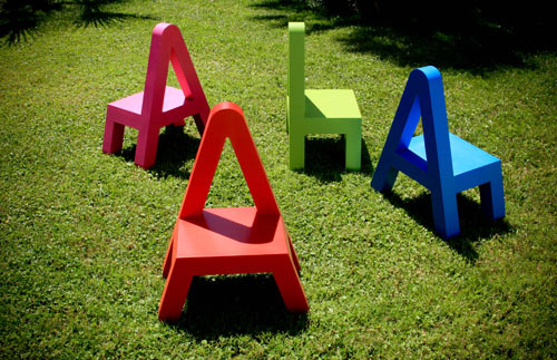 Letters Furniture for Kids by Alessandro Di Prisco in home furnishings  Category