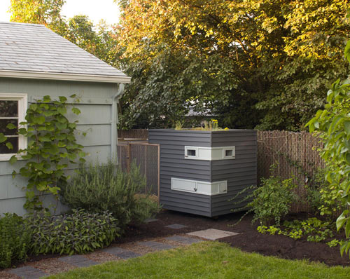 A Modern Hen House in Portland