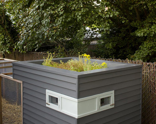 A Modern Hen House in Portland in main home furnishings architecture  Category