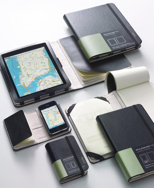 Moleskine iPhone and iPad Covers