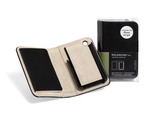 Moleskine iPhone and iPad Covers in technology style fashion  Category