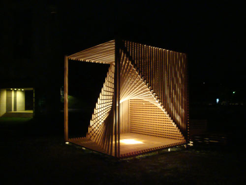 Organic Cube by Søren Korsgaard in main architecture  Category