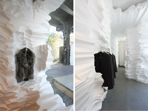 Building Fashion at HL23: Richard Chai and Snarkitecture - Design Milk