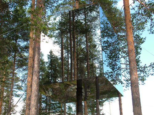 Treehotel in main interior design  Category