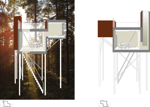 Treehotel in interior design  Category