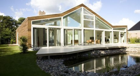 Villa BH in The Netherlands by WHIM Architecture