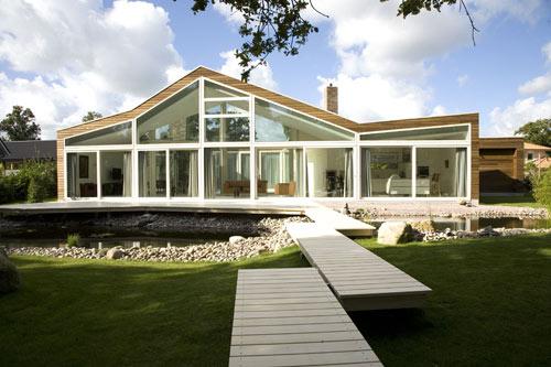 Villa BH in The Netherlands by WHIM Architecture - Design Milk