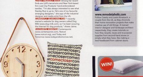 Thank You Singapore Home & Decor Magazine