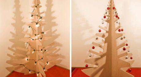 Plywood Christmas Tree by BUILD LLC