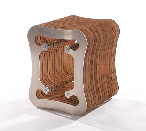Diviso Stool by Neil Macqueen