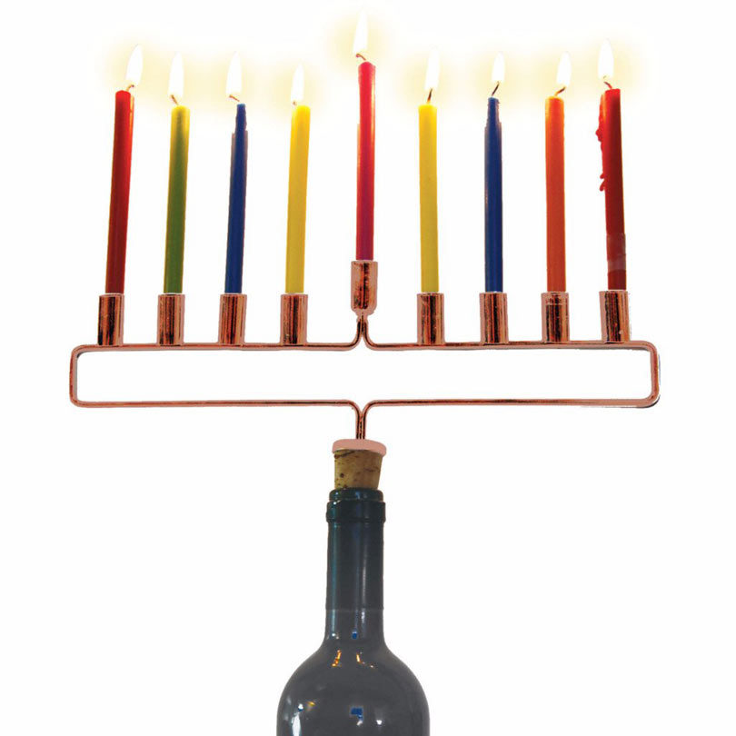 menorah-copper-menorah-cork