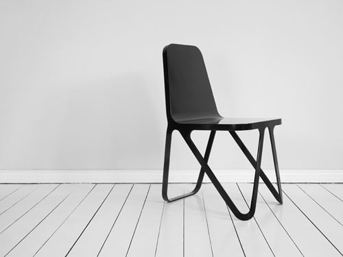Aluminium Chair by Peter Scherer