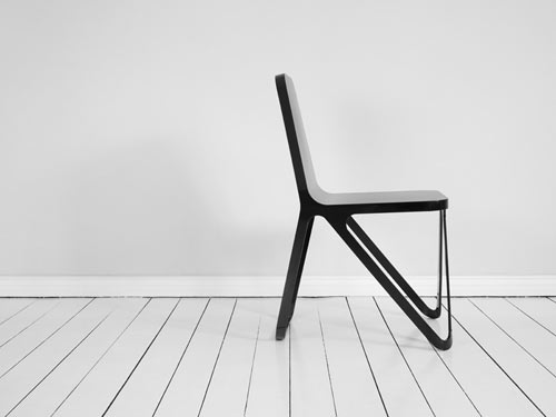 Aluminium Chair by Peter Scherer in home furnishings  Category
