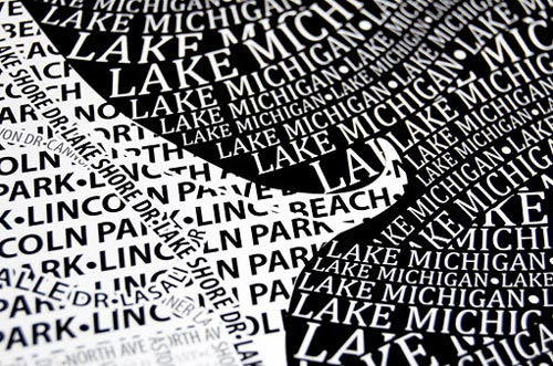 Typographic Maps by Axis Maps in main home furnishings art  Category