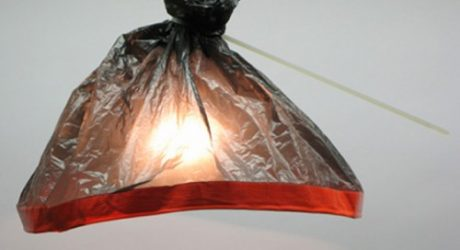 Plastic Bag Lights by Burojet
