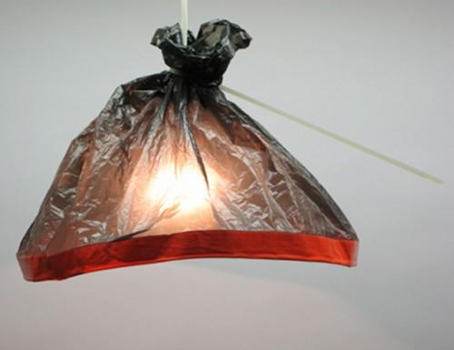 Plastic Bag Lights by Burojet