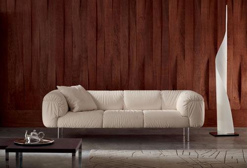 Bebop Sofa by Poltrona Frau in main home furnishings  Category