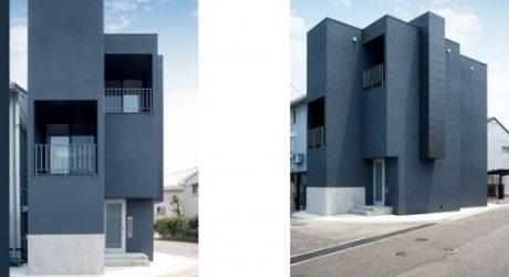 Black House in Japan by Kouichi Kimura Architects