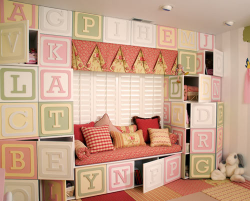 Blocks Wall by Kidtropolis in main interior design  Category