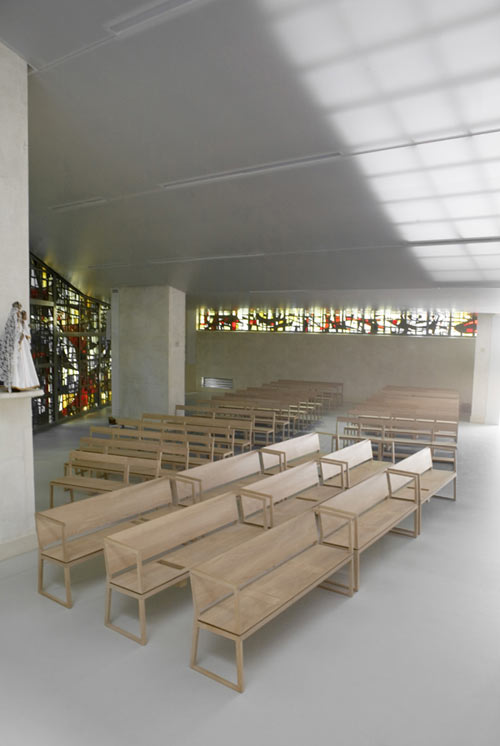 Chapel of the Carmelites of the Assumption in France by John Doe