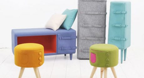 Dressed Up Furniture by KAMKAM