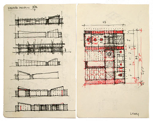 Gesture: Hand Drawings by Architects in art architecture  Category