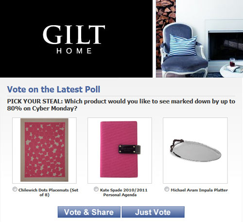 Friday Five with Gilt Home in style fashion sponsor main home furnishings  Category
