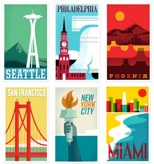 New Heads of State Travel Posters