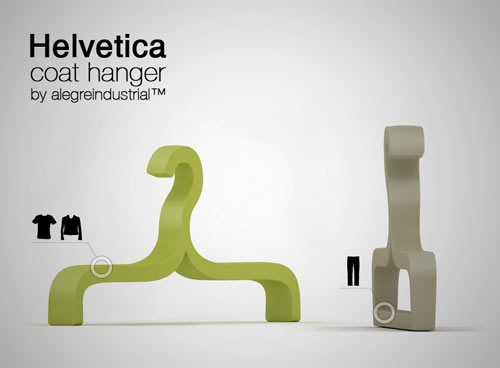 Helvetica Hanger in main home furnishings  Category