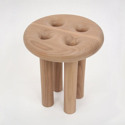 Hollow Leg Stool by Christopher Kurtz in home furnishings  Category