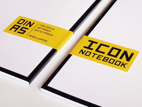 Icon Notebook in technology style fashion  Category