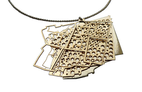 Jerusalem Pendant by Knockoutdesign